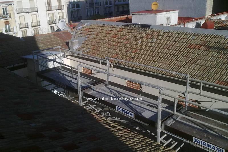 Calle general lvarez de castro madrid cubiertas estevez for Alvarez de castro